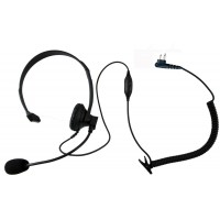 Single ear headset with push to talk and VOX for Motorola SP10 SP50 SPIRIT MU11C MU21CV GP300 P1225 GTX800 CP200 PR400 CT250 XTN XV1100 XV2600 XU2100 radios and more