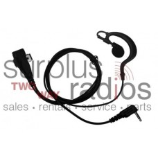 HYT EAM1325 two wire D ring headset with in line PTT for TC-320 TC320