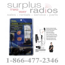 Ear Phone Connection EP1311QR Tactical Police Lapel Headset Mic Kenwood NX200 NX300 TK2180 TK3180 TK5210 and more