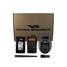 Vertex EVX-539-D0-5 VHF 136-174mhz 5 watt 512 channel analog/digital DTMF portable radio