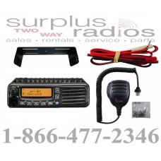 Icom F5220D 01 IDAS VHF 136-174mhz 50 watt 128 channels digital and analog multi site mobile radio