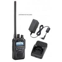 Icom F52D 5W 512CH IP67 Digital VHF 136-174MHZ IDAS Waterproof Radio with Charger