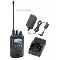 Icom F62D 11 4W 512CH IP67 Digital UHF 400-470MHZ IDAS Waterproof Radio with Charger