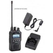 Icom F62D 11 4W 512CH IP67 Digital UHF 400-470MHZ IDAS Waterproof Radio with Charger