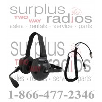 Pryme HDS-EMB + K-CORD M1 Dual Muff Racing Headset and K-Cord Kit for Motorola M1 Radio CP200 CP150 PR400 GP300