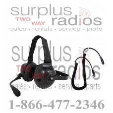 Pryme HDS-EMB + K-CORD M5 Dual Muff Racing Headset and K-Cord Kit for Motorola M5 Radio EX500 RX600 EX600XL