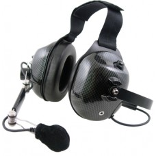 Pryme HDS-EMC carbon fiber dual muff high noise Behind-the-head headset (Requires K-Cord)
