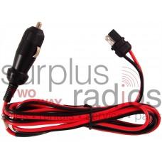 Motorola HKN9407A cigarette lighter adapter power cord for CDM1250 PM400 CM300 GM300 M1225