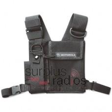 Motorola adjustable chest pack for portable radios