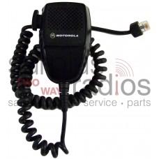 Motorola HMN3596A microphone and hang clip for motorola mobile radios