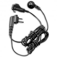 Motorola HMN8435A two wire earbud with clip microphone and PTT for CP200 CLS1110 CLS1410 DTR410 RDX