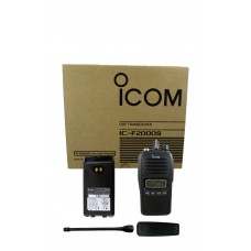 Icom IC-F2000S 05 4 watt 128 channel UHF 400-470mhz two way radio