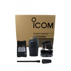Icom F3210D 01 RC digital VHF 5 watt 16 channels 136-174 MHz portable radio