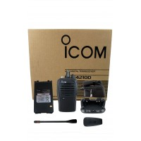 Icom F4210D 21 RC digital UHF 4 watt 16 channels 450-512 MHz
