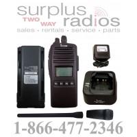 Icom F70DS 01 VHF 5 watt 256 channels 136-174 MHz full P25 digital