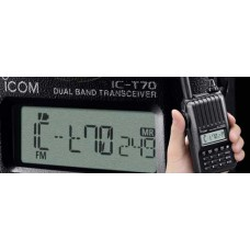IC-T70A HD Dual Band FM Transceiver