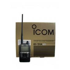 Icom ID51A PLUS 1304 channels 5 watt VHF/UHF Dual-Band D-STAR handheld transceiver with GPS