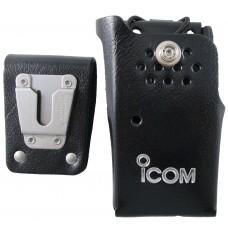 Icom leather case swivel holster for F3001 F4001 F4101D F3101D LCF3000