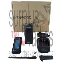 Kenwood Pro Talk TK-3400U16P pre- programmed UHF 451-470mhz 2 watt 16 channel two way radio