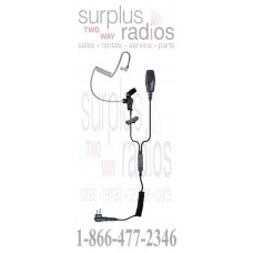 Klein Patriot-NC M1 Patriot Noise Canceling Surveillance Headset for Motorola CP185 CP200 PR400 BPR40 and more
