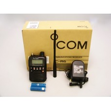 Icom IC-R6 R6 wide band UHF VHF scanner receiver