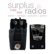 Motorola RLN6302A leather Holster for Motorola RDX and CP110 series radios