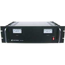 Astron RM-35M rack mount 35 amp 25 amp continues power supply with volt and amp meters
