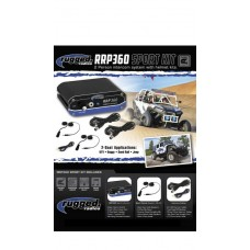 Rugged Radios Inner-Connect RRP360 2-Place Intercom System W/ Helmet Style Speaker & Mic Racing Kit
