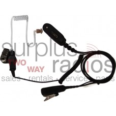 Pryme SPM-1343 2 wire surveillance headset with coil cord receiver for Motorola EX500 EX560 EX600 and GP388 radios