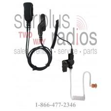 Pryme SPM-1363 Mirage series medium duty 2 wire surveillance headset