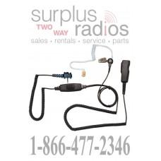 Pryme SPM-2022S two wire surveillance headset for single pin Vertex radios