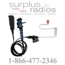 Pryme SPM-2322S medium duty 2 wire surveillance headset for Motorola Vertex single pin series radios