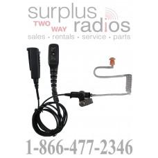 Pryme SPM-2355 2 wire surveillance headset for DMR Hytera radios