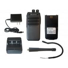 SRcommunications SR-D1U 400-470MHz 256 channels 16 zone 4W digital/analog DMR portable radio