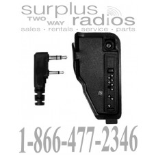 Pryme PA-TK0111 K2-K1 audio jack adapter for Kenwood radios
