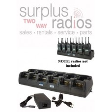 Power Products TWC12M + 6 TWP-KW4-D 12 Unit Gang Charger for Kenwood NX200 TK2180 NX300 TK3180 NX410 TK5210 TK5220 and more