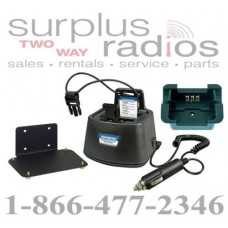 Power Products TWC1M + TWP-KW6 Vehicle Charger for Kenwood NX240 NX340 TK2312 TK3312 TK2400 TK3400 TK2402 and more