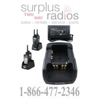 Power Products TWC2M + TWP-MT13-D Dual Radio Charger for Motorola XTS2500 XTS5000 XTS3000 PR1500 MT1500 XTS1500 and more