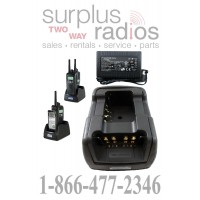 Power Products TWC2M + TWP-MT16-D Dual Radio Charger for Motorola XPR6300 XPR6550 XPR6350 XPR6580 and more