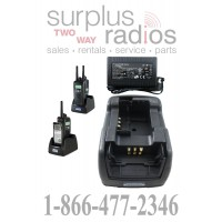 Power Products TWC2M + TWP-MT3-D Dual Radio Charger for Motorola CP150 CP200 PR400 CP200XLS CP200D and more