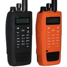 Black silicone proctecive case for motorola XPR TRBO RADIOS XPR6550 XPR6580
