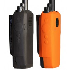 Black silicone proctecive case for motorola XPR TRBO XPR6300 XPR6350 RADIOS