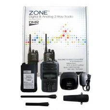 Blackbox Zone-KP 4W 1000CH 400-470MHZ UHF DMR Digital & analog Radio HAM DTMF