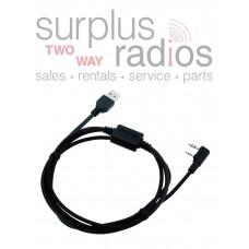 Kenwood Programming Cable KPG-22U for TK-2101 TK-2107 TK-2118 TK-2160 TK-2201 TK-2202 TK-2206 TK-2207 TK-260 TK-260G TK-270 TK-270G TK-272 TK-3101 TK-3102 TK-3107 TK-3118 TK-3160 TK-3201 TK-3202