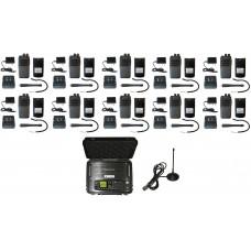 QTY 10 SRcommunications SR-D1U Portable Radio and Blackbox Lunchbox Portable Digital UHF 400-470MHz DMR Repeater